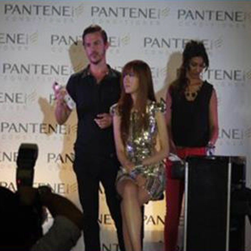 <div align='center'><b>Pantene Pro-V</b><br> <span style='font-size:11px'>Event Marketing<br> Media Launch<br> Philippines</span></div>